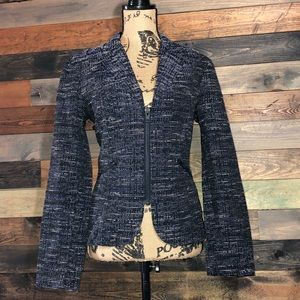 CAbi Mingled Jacket/Blazer With Black Hardware